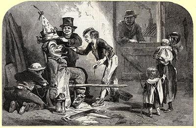 Burning Drummond's Effigy