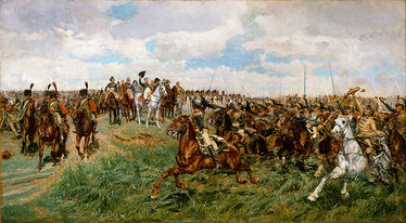The Grand Army in Battle