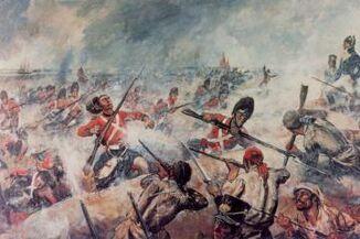 British massacred by Jamaican Militia