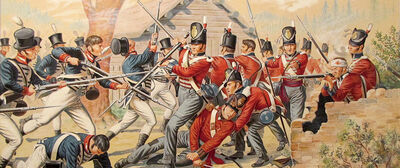 Fighting in Canada 1812