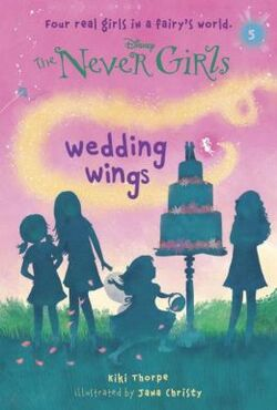 The Never Girls Wedding Wings