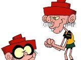 Lenny and Denny Yogman
