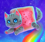 Nyan cat by mechanical2127-d4z75bf