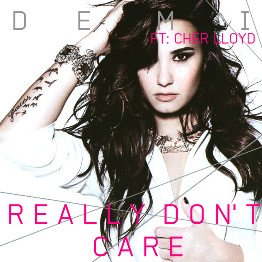 Demi Lovato Really Dont Care Png