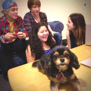 Austin-and-ally-cast-live-ustream-pixie-dec-3