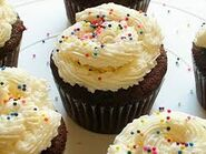 Sprinkled Cupcake