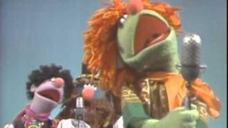 Sesame Street- Little Jerry and co singing Sad