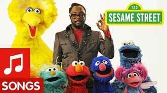 """Sesame Street Will.i.am Sings """"What I Am"""""""