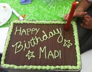 Happy birthday Madi
