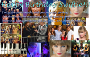 Happy bday Swiftie! From Melo