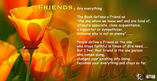 Touching Quotes About Friendship Extraordinary Image  Hearttouchingfriendshipquotes4Pclayer  Whatever