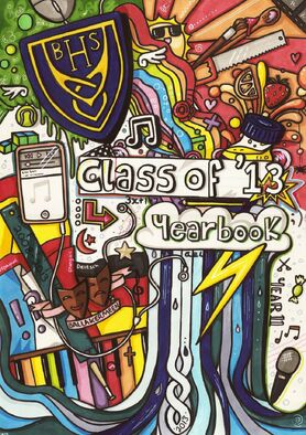 Yearbook cover by evaholder-d5gllip