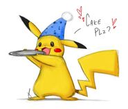 Pikachu likes to Party by littletiger488