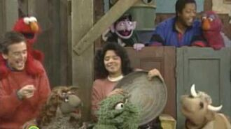 Sesame Street-Everybody singing Don't Sing This Song to Oscar