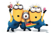 Cartoons The best cartoon Minions the despicable me 2 051631