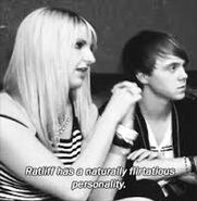 Rydel talking about ratliff