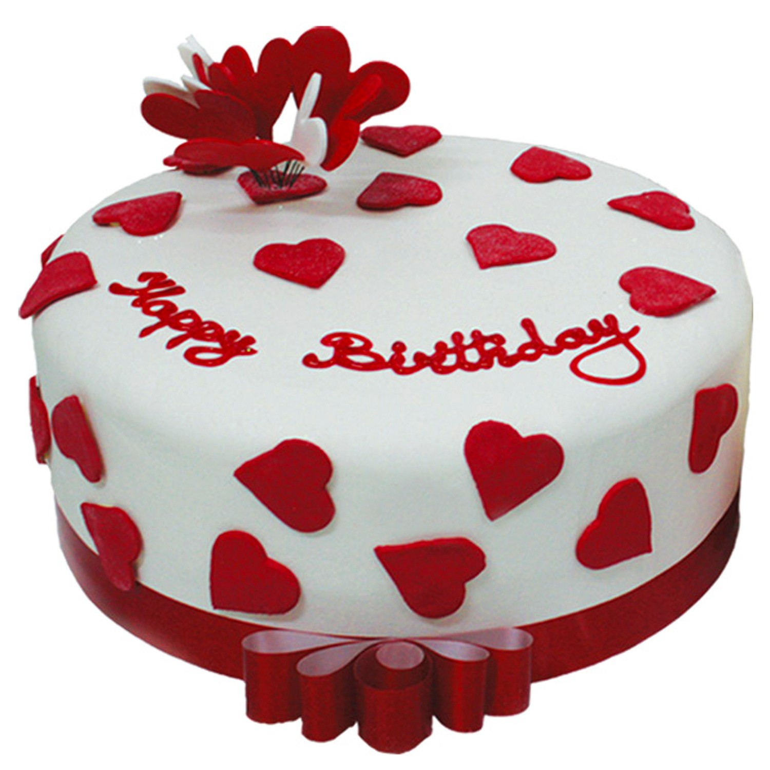image - heart-birthday-cake-on-valentine-day | whatever you, Ideas