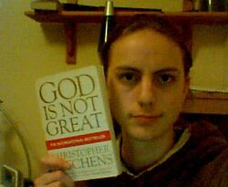 10 03 11 God is Not Great - webcam shot