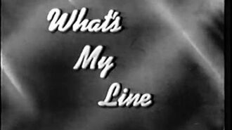 What's My Line? - Phil Rizzuto - Debut Show (Feb 2, 1950) UPGRADE