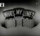 What's My Line? (1950)
