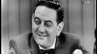 What's My Line? - Guy Lombardo; Betty Furness & Garry Moore panel (Dec 31, 1950)