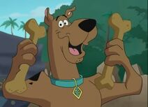 Scooby and bones