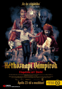 What We Do in the Shadows Hungarian poster