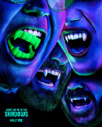 What We Do in the Shadows fake teeth poster