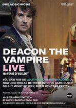 Deacon the Vampire Live