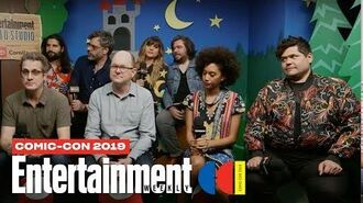 'What We Do in the Shadows' Cast Joins Us LIVE SDCC 2019 Entertainment Weekly