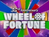 Wheel of Fortune timeline (syndicated)/Season 35
