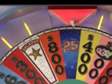 Wheel of Fortune timeline (syndicated)/Season 25