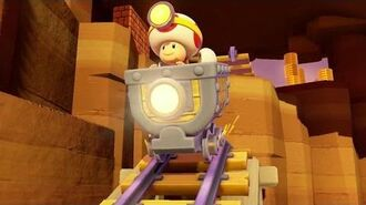 Captain Toad Treasure Tracker Gameplay - Comic Con 2014