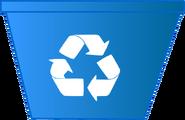 WOW Recycling Bin Body