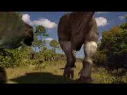 T. rex chase