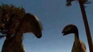 Dryosaurus feeding