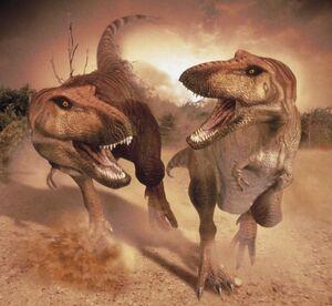 T. rex poster