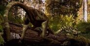 Dino eats Locust