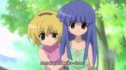Satoko & Rika Awwwww
