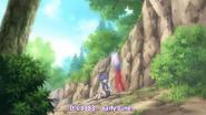 Rika and Hanyū at Rika's Rebirth