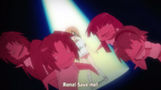 Keiichi Begs Rena to Save Him