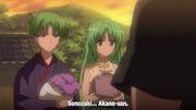 Akane at Grave