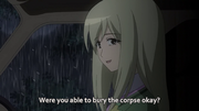 Takano Asks Keiichi about Corpse
