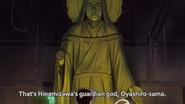 Oyashiro-sama Statue