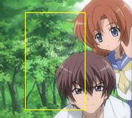 Artifact behind Keichi & Rena-I