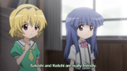 Rika on Satoshi and Keiichi