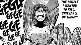 Shion stabs Keiichi Higurashi manga