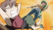 Mion Retorts to Keiichi