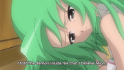 Shion Soothes the Demon