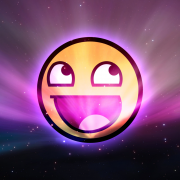 Awesome Face Space Wallpaper by I AM RESISTY-180x180